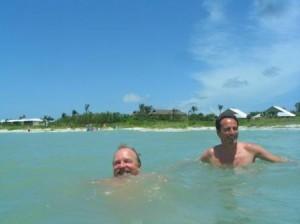 Schwimmen im Meer, Sanibel Florida