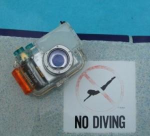 Unterwassergehäuse für Canon A70
