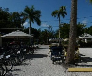 Fahrradverleih auf Sanibel