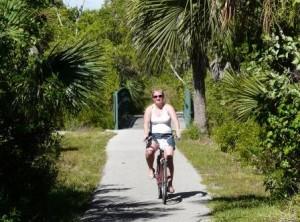 Radfahren auf Sanibel