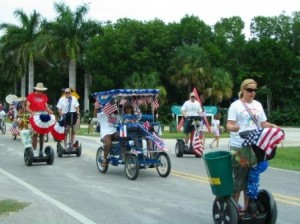 Parade Sanibel 4 Juli 2010