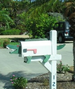 US Mailbox im Kokodil/Alligatoren-Design