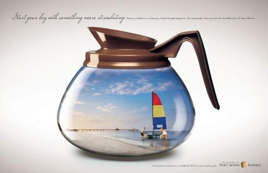 Werbung für Fort Myers