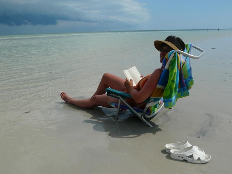 Strandstuhl am Meer