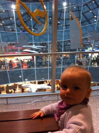 Flug mit Baby