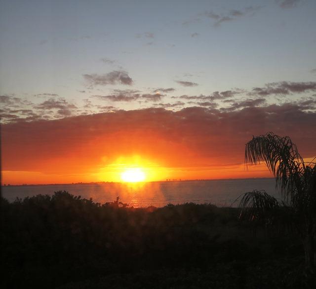 Sonnenaufgang Sanibel im Novemnber