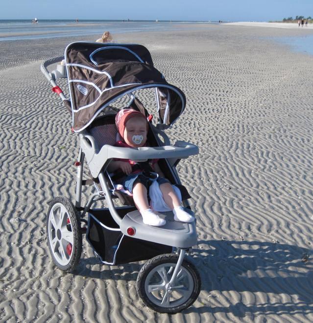 Kinderwagen für Strand