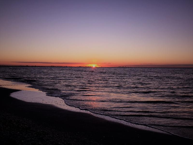 Sonnenaufgang: Morgenstund' had Gold im Mund